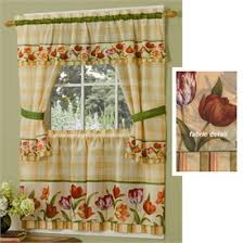 Discounted Curtains Floral Kitchen Curtains Floral Curtains Flower Print Tiers