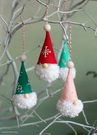 pom pom gnome ornaments lia griffith