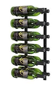 amazon com vintageview ws32 k 18 bottle wall mounted metal