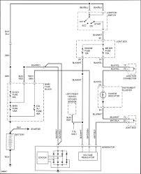 where to find a simple starter alternator wiring schematic