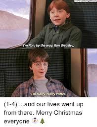 Harry Potter Trolley Meme - 25 best memes about ron weasley ron weasley memes