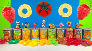 paw patrol superhero super pups learn colors canned food
