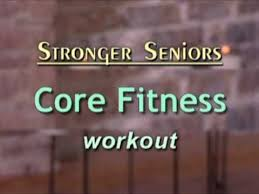Armchair Exercises For The Elderly Dvd Stronger Seniors Core Fitness Workout Chair Exercise Video