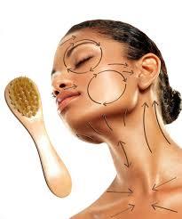 Face Mapping Pimples Face Brushing Skin Brushing