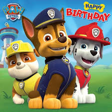 Happy Fourth Birthday Quotes Happy Birthday Paw Patrol Birthday Card 1 79 Party Party