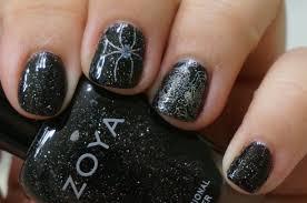 halloween nails coloured nails