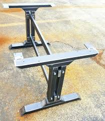 small metal table legs metal table legs for modern looking table small home ideas