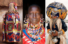 photos of cultural fashion clothing around the world