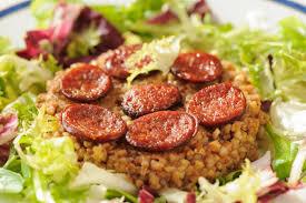 cuisiner les graines de sarrasin kasha sarrasin torréfié et chorizo cuisine à l ouest