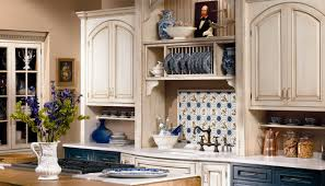 Just Cabinets And More by Caesarstone Misty Carrera 4141 Perimeter Counters With White