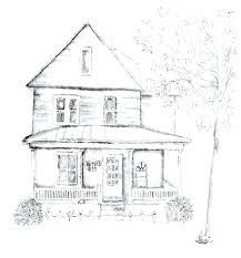 house to draw small house drawings simple house drawing drawing small house