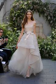 dusty wedding dress wedding dresses photos dusty gown high low dress by