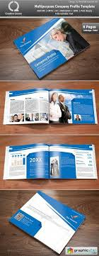 free download layout company profile multipurpose company profile template free download vector stock