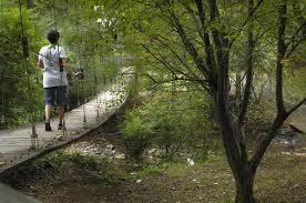 Buffalo Creek Trail Map Volunteers Needed For Suspension Bridge Build Catawba Lands