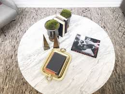 Gold Coffee Table Tray by Coffee Table Styling Cococozy