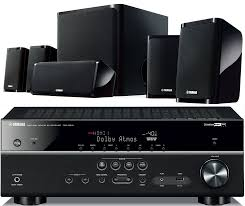 home theater amplifier yamaha ts r5810 networking receiver u0026 ns pz40 5 1 speaker package