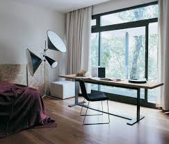 bedroom office bedroom combo with desk ideas for small rooms full size of bedroom desk ideas for bedroom rectangle writing desk and black chair floor lamp