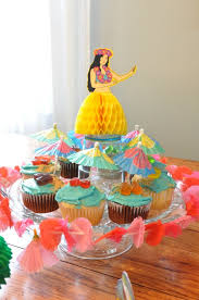 Luau Cake Decorations Luau Party Sue At Home