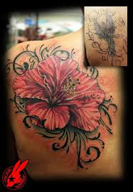 tattoo cover up ideas on flower tattoo 4