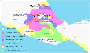 Mayan Empire Map Index Of Aztecs
