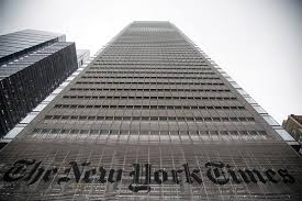 the new york times has new york times ceo print journalism has maybe another 10 years