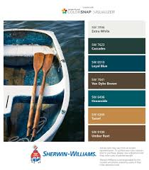 coastal color palettes from sherwin williams colorsnap