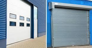 Overhead Rolling Doors Overhead Garage Door Or Rolling Gate