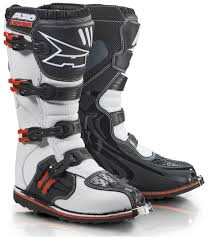 motocross gear sale uk axo drone ltd edition boots offroad white red axo protector vest