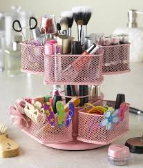 makeup storage ideas for more organized and good looking storage
