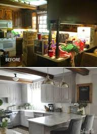 Kitchen Makeover Before And After - before and after 25 budget friendly kitchen makeover ideas