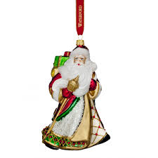 Marquis By Waterford Christmas Ornaments Nostalgic Miraculous Santa Ornament Discontinued Waterford