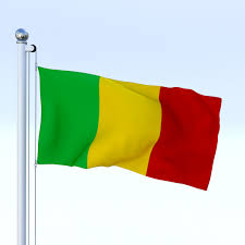 Benin Flag Animated Mali Flag By Dragosburian 3docean