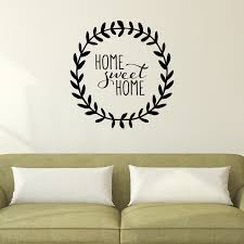 home sweet home leaves wall quotes decal wallquotes com home sweet home leaves wall quotes decal