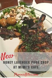 new honey lavender pork chop at mimi s cafe