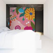 Papier Peint Fushia by Un Papier Peint Rose Pour Les Beaux Jours