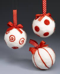 short needle felting ornaments featuring sharon from crafts u0027n