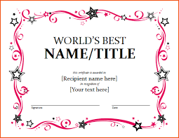 3 award certificates templates bookletemplate org