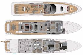 Luxury Yacht Floor Plans by Lucia M Layout Jongert Yachts Motor Yacht Superyachts Com