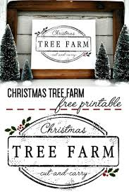 christmas tree farm printable christmas tree farm christmas