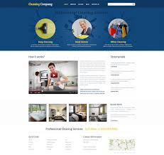 website template 45335 cleaning company services custom website