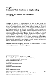 semantic web solutions in engineering springer