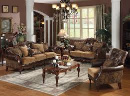 fancy living room furniture traditional leather living room furniture creditrestore regarding