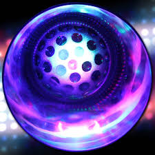 ball with light inside 9 oz light up led disco ball rock glass bar supplies drinkware