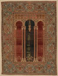 carpet with triple arch design work of art heilbrunn timeline
