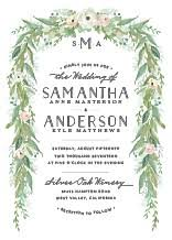 wedding invatations wedding invitations custom wedding invites in green elli