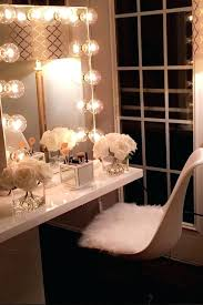 Lighted Bedroom Vanity Bedroom Vanity Table With Lights Most Seen Images In The