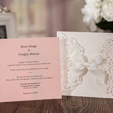 luxury wedding invitations online shop 1pcs sle pink laser cut luxury wedding invitation
