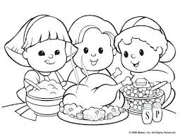 free printable thanksgiving food coloring pages best images on feast
