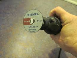 dremel ez lock metal cutting wheel 456 youtube