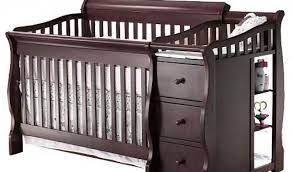 Toys R Us Convertible Cribs Bertini Pembrooke 4 In 1 Convertible Crib Rustic